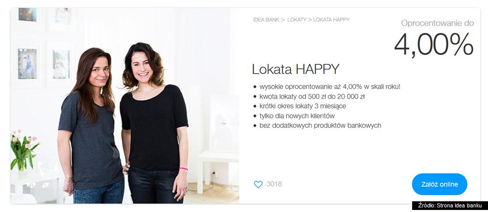 lokata happy idea bank