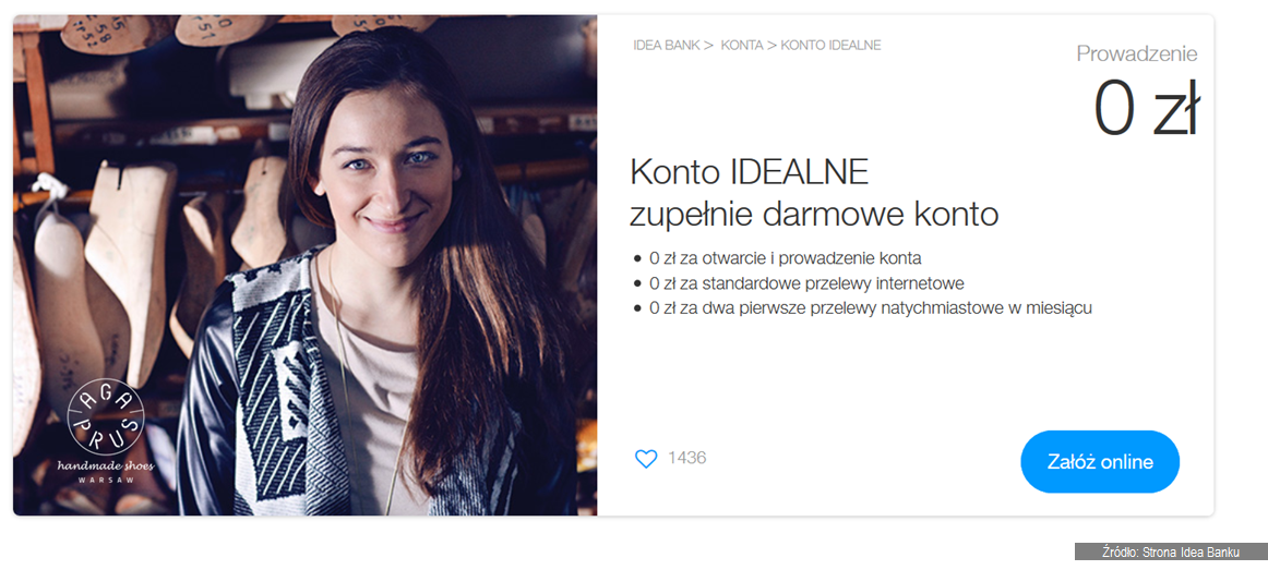 konto idealne idea bank